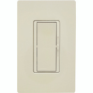 Lutron DVW-603PH-LA Diva 600 Watt Light Almond 3 Way Dimmer Switch