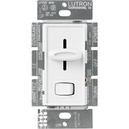 Lutron S-603PH-WH Skylark White 3 Way Preset Slide Dimmer