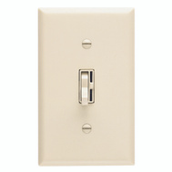 Lutron TG-600PH-IV Toggler Ivory 1 Pole Preset Toggle Dimmer