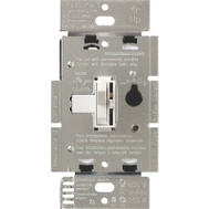 Lutron TGCL-153PH-WH Toggler Dimmer Cfl/Led Togg 1P/3Wy Wht