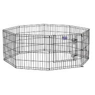 Midwest Metal 554-36DR 36x24 Blk Exercise Pen