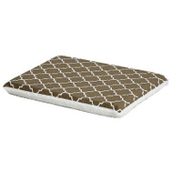 Midwest Pets 40724T-FBR 24 Inch BRN Geo Crate Pad