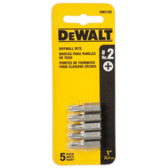 DeWalt DW2105 #2 Phillips Insert Bit Pack Of 5