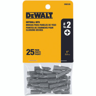 DeWalt DW2125 #2 Phillips Insert Bit Pack Of 25