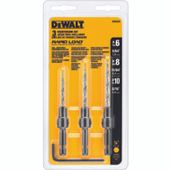DeWalt DW2535 3 Piece Rapid Load Countersink Set