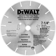 DeWalt DW3330 7-1/4 Inch 16 Tooth Iron Steel Saw Blade