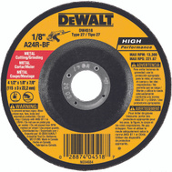 DeWalt DW4518 4 1/2 By 1/8 By 7/8 Inch Grinding Wheel
