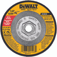 DeWalt DW4523 Metal Grinding Wheel 4-1/2 By 1/4 Inch