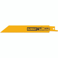 DeWalt DW4810 4 Inch Reciprocating Saw Blade Pack Of 5