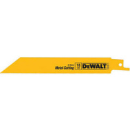 DeWalt DW4811 6 Inch Reciprocating Saw Blade Pack Of 5