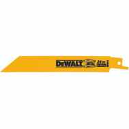 DeWalt DW4813 6 Inch Reciprocating Saw Blade Pack Of 5