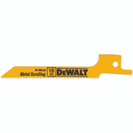 DeWalt DW4815 3-1/2 Inch Reciprocating Saw Blade Pack Of 5