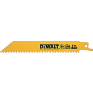 DeWalt DW4850 6 Inch Reciprocating Saw Blade Pack Of 5