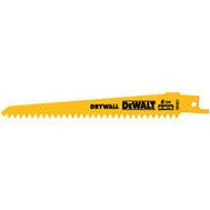 DeWalt DW4851 6 Inch Reciprocating Saw Blade Pack Of 5