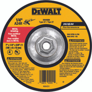 DeWalt DW4999 7 By 1/4 By 5/8 Inch 11 Grinding Wheel