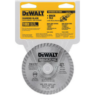 DeWalt DW4700 4 Inch Dry Cut Diamond Saw Blade