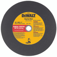 DeWalt DW8001 14 Inch Chop Saw Wheel
