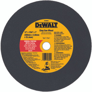 DeWalt DW8004 12 By 3/32 Inch Metal Chop Saw Wheel