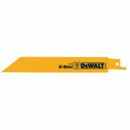 DeWalt DW4811B25 6 Inch Reciprocating Saw Blade