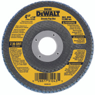 DeWalt DW8306 4 1/2 By 7/8 Inch 36 Grit Flap Wheel