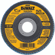 DeWalt DW8309 4 1/2 By 7/8 Inch 80 Grit Flap Wheel