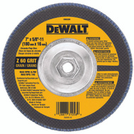 DeWalt DW8329 7 By 5/8 By 11 Inch 60 Grit Flap Wheel