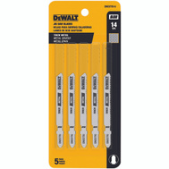 DeWalt DW3770-5 Metal Cutting Jig Saw Blade Pack Of 5