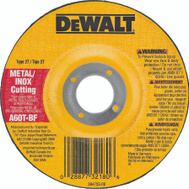 DeWalt DW8420 4 By 5/8 Inch Depressed Center Wheel
