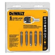 DeWalt DW2506CS 6 Piece Screwdriver Bit Set