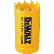 DeWalt D180018 1-1/8 Inch Bi-Metal Hole Saw