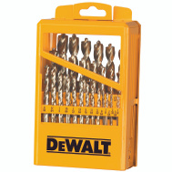 DeWalt DW1969 29 Piece Pilot Point Drill Bit Set