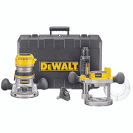 DeWalt DW618PK 2 1/4 Hp Variable Speed Router Combo Kit