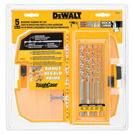 DeWalt DW5205 Drill Bit Percusn Set W/Cs 5Pc
