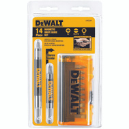 DeWalt DW2097CS 14 Piece Magnetic Drive Guide Set