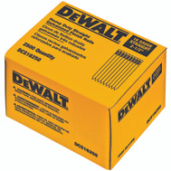 DeWalt DCS16125 1-1/4 Inch 16 Gauge Galvanized Straight Smooth Finishing Nail (Pack Of 2500)