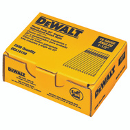 DeWalt DCA16150 1-1/2 Inch 16 Gauge Galvanized 20 Degree Smooth Finishing Nail (Pack Of 2500)