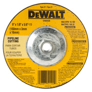 DeWalt DW8438 6 X 1/8 X 5/8 Inch High Performance Pipeline Wheel
