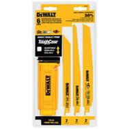 DeWalt DW4896 Recip Blade Kit W/Case 6 Pc