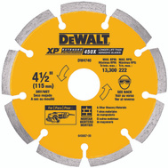 DeWalt DW4740 4-1/2 Inch By.250 Tuck Point Bld