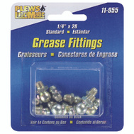 Plews Edelmann 11-955 Lubrimatic Fitting Grease Stnd 8 Pack