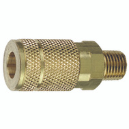 Plews Edelmann 13-125 Tru Flate Air Line Coupling Design 1/4 Inch Male