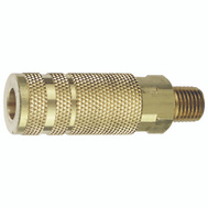 Plews Edelmann 13-425 Tru Flate Air Line Coupler Lincoln Design Male