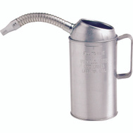 Plews Edelmann 75-441GS 1 Qt Galv Measure With Flex Spout