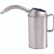 Plews Edelmann 75-442GS 2 Qt Galvanized Measure With Flex Spout