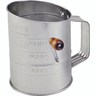 Norpro 136 Flour Sifter 3 Cup With Crank