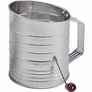 Norpro 137 Flour Sifter 5 Cup With Crank