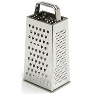 Norpro 339 4-Sided Grater 8.5 Inch S/S Satin