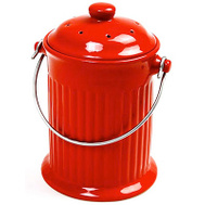 Norpro 93R RED Compost Keeper