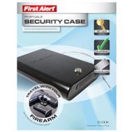 First Alert 5100K Portable Handgun Security Storage Case
