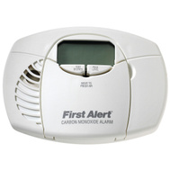 First Alert 1039727/CO410 Co Alarm Digital Disp Battery Operated